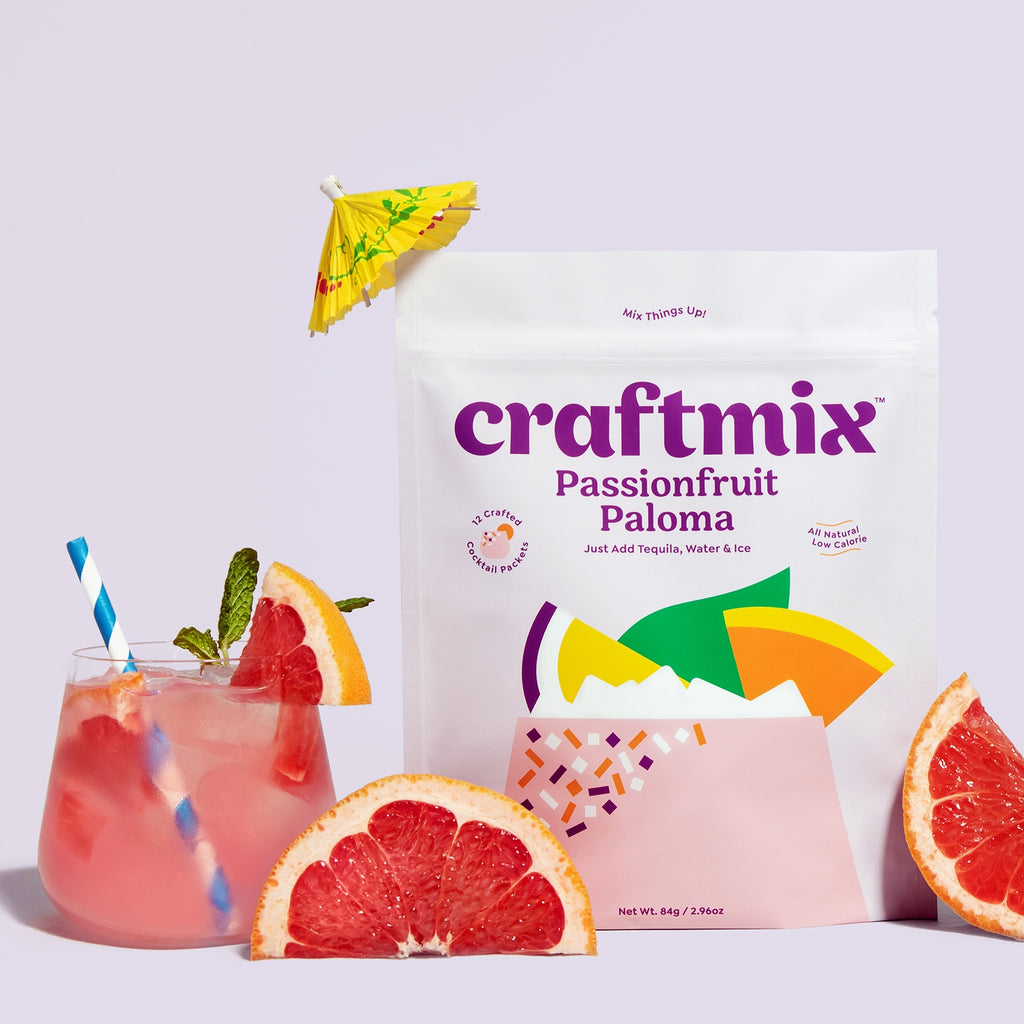 Craftmix Passionfruit Paloma Cocktail Mixer - Giften Market