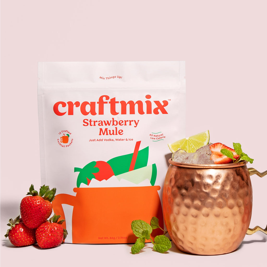Craftmix Strawberry Mule Cocktail Mixer - Giften Market