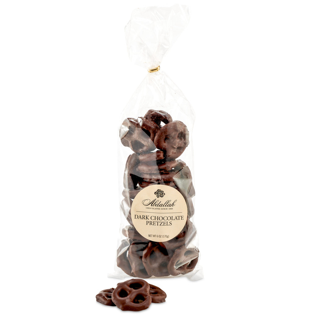 Dark Chocolate Covered Pretzels - Giften Market