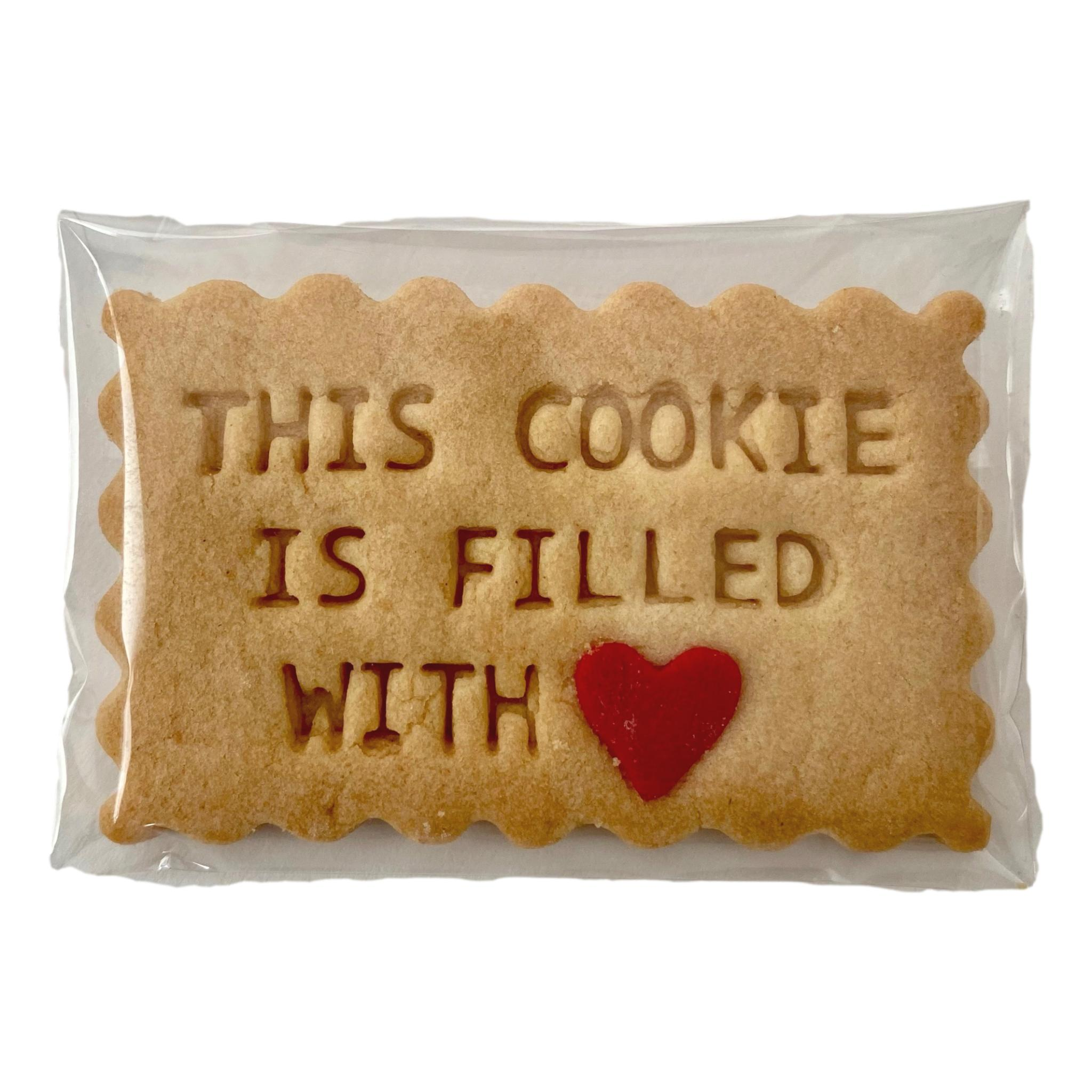 This Cookie Is Filled With Love - Handmade Gifts