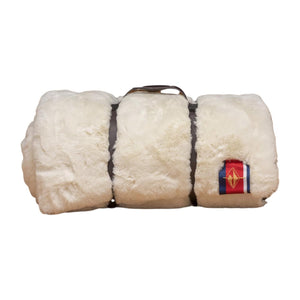 Pretty Rugged Luxe Faux Fur Original Blanket | White Mink - Giften Market