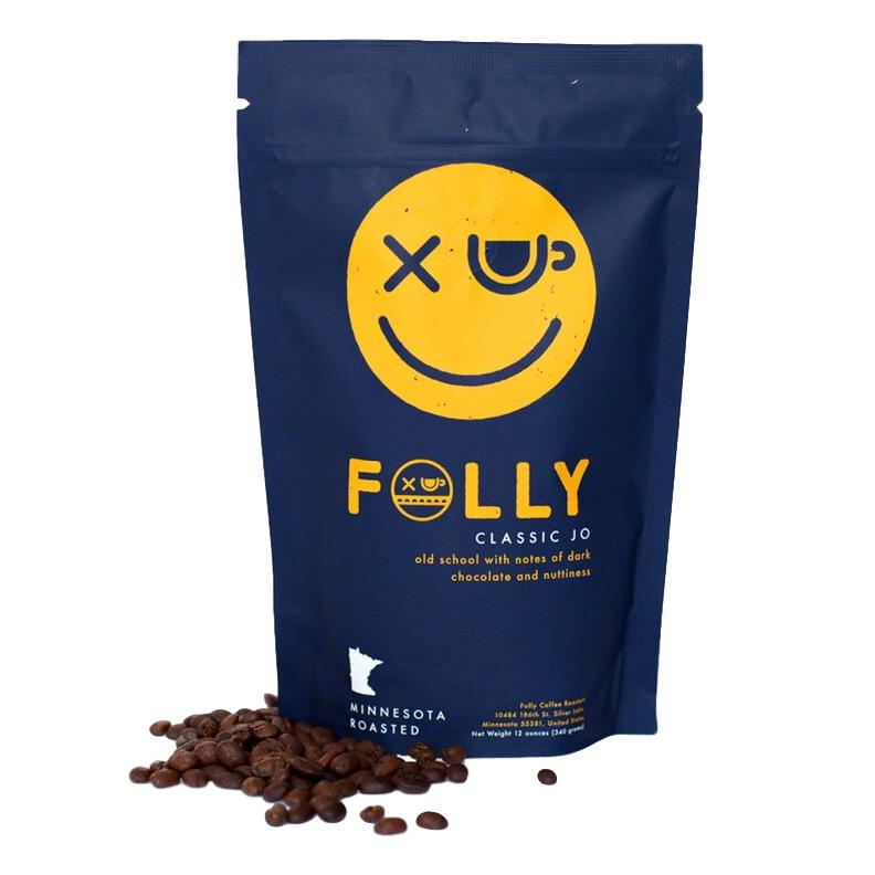 Folly Coffee | Classic Jo - 12oz Whole Bean - Giften Market
