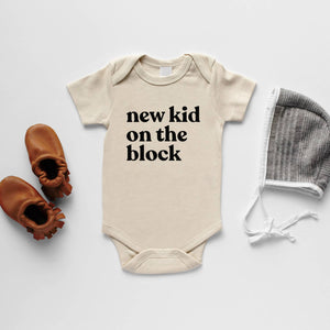 Organic Baby Bodysuit - New Kid on the Block