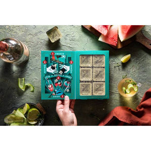The Cecile - 6 Infused Cocktail Cubes - Giften Market