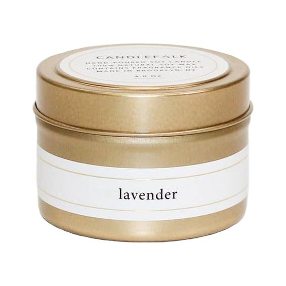 Lavender - Gold Travel Candle - Giften Market