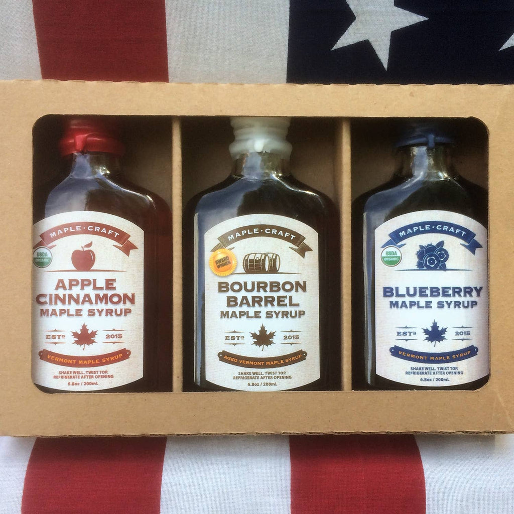 Vermont Maple Syrup Sampler Pack - Giften Market