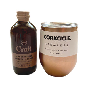 Craft Moscow Mule Cocktail Syrup - 8oz - Giften Market