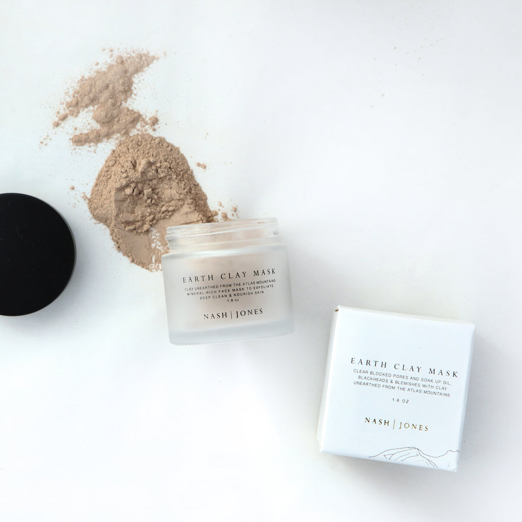 Earth Clay Mask - Nash & Jones - Giften Market