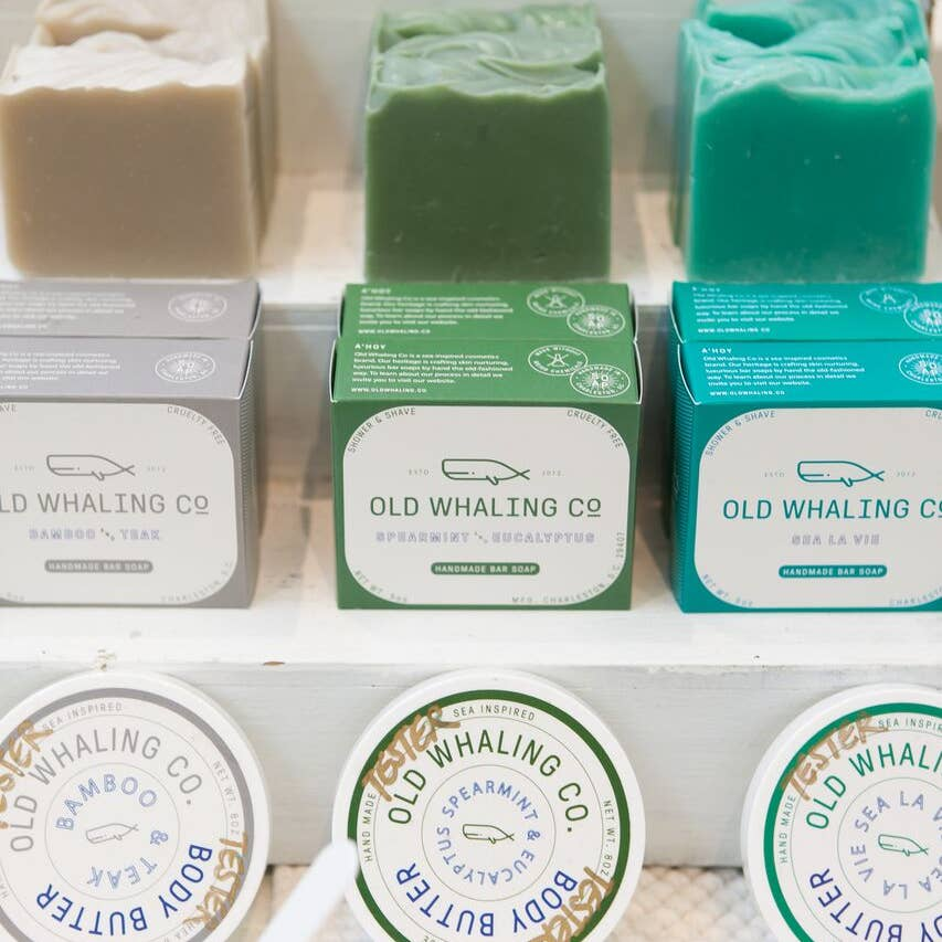 Old Whaling Co. Soaps + Bath Bombs - Giften Market