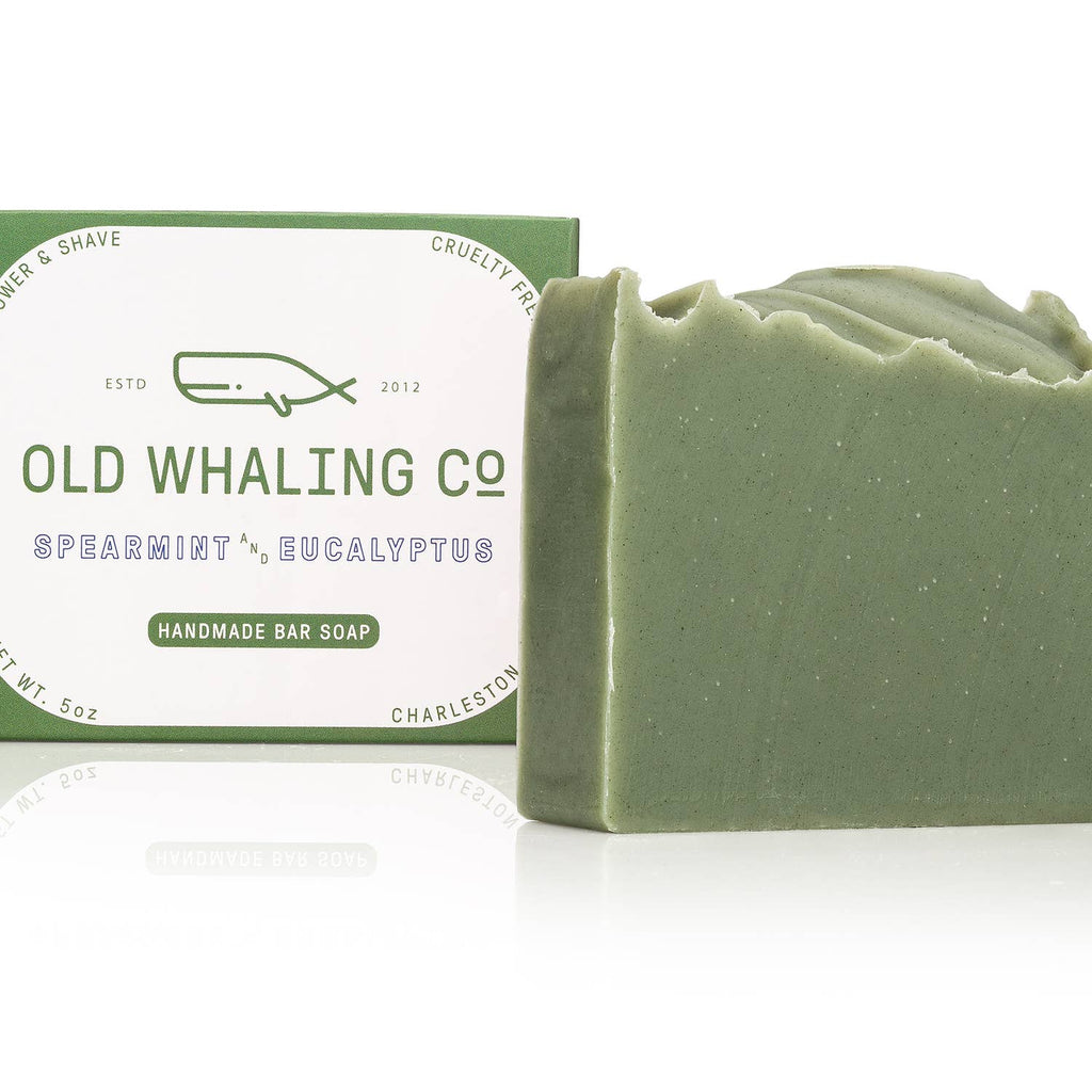 Spearmint + Eucalyptus Bar Soap - Old Whaling Co.
