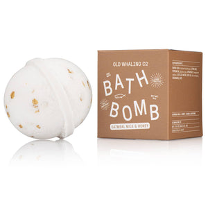 Oatmeal Milk + Honey Bath Bomb - Giften Market