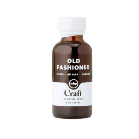 Craft Old Fashioned Cocktail Syrup - 1oz - Giften Market