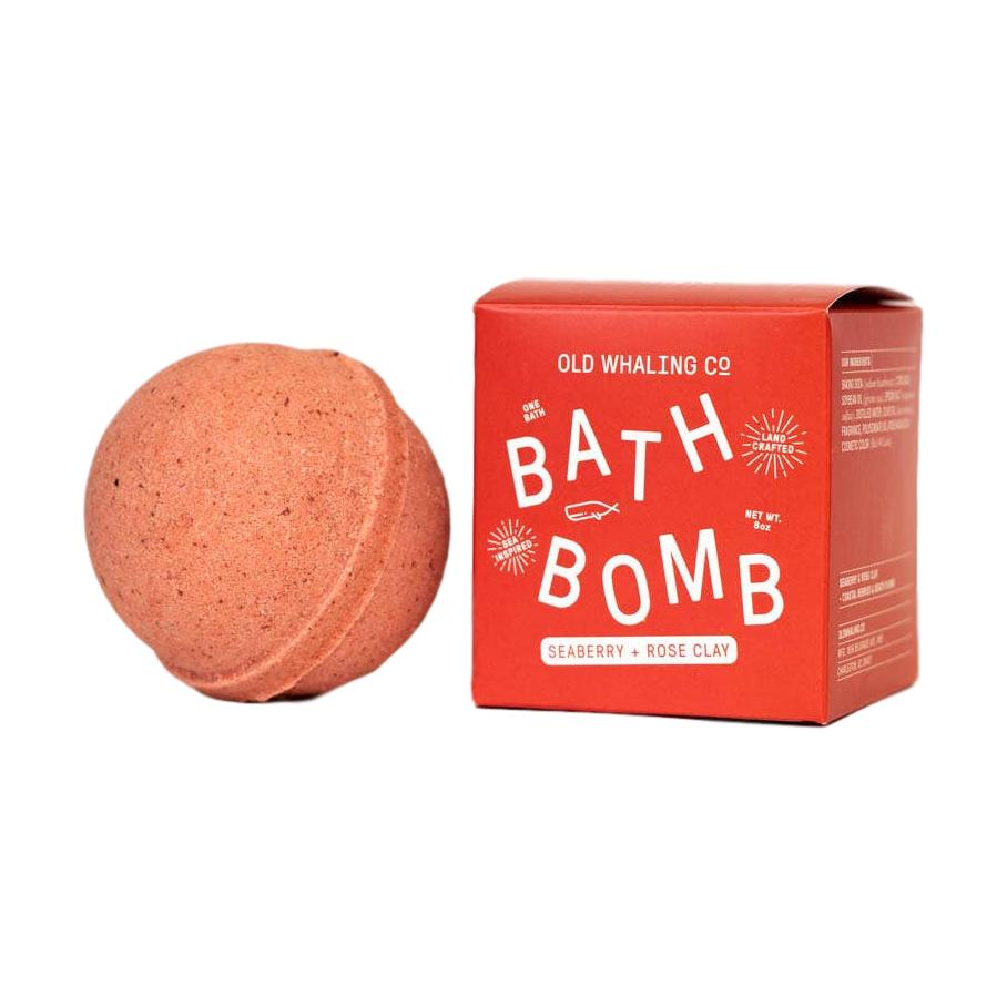 Seaberry + Rose Clay Bath Bomb - Giften Market