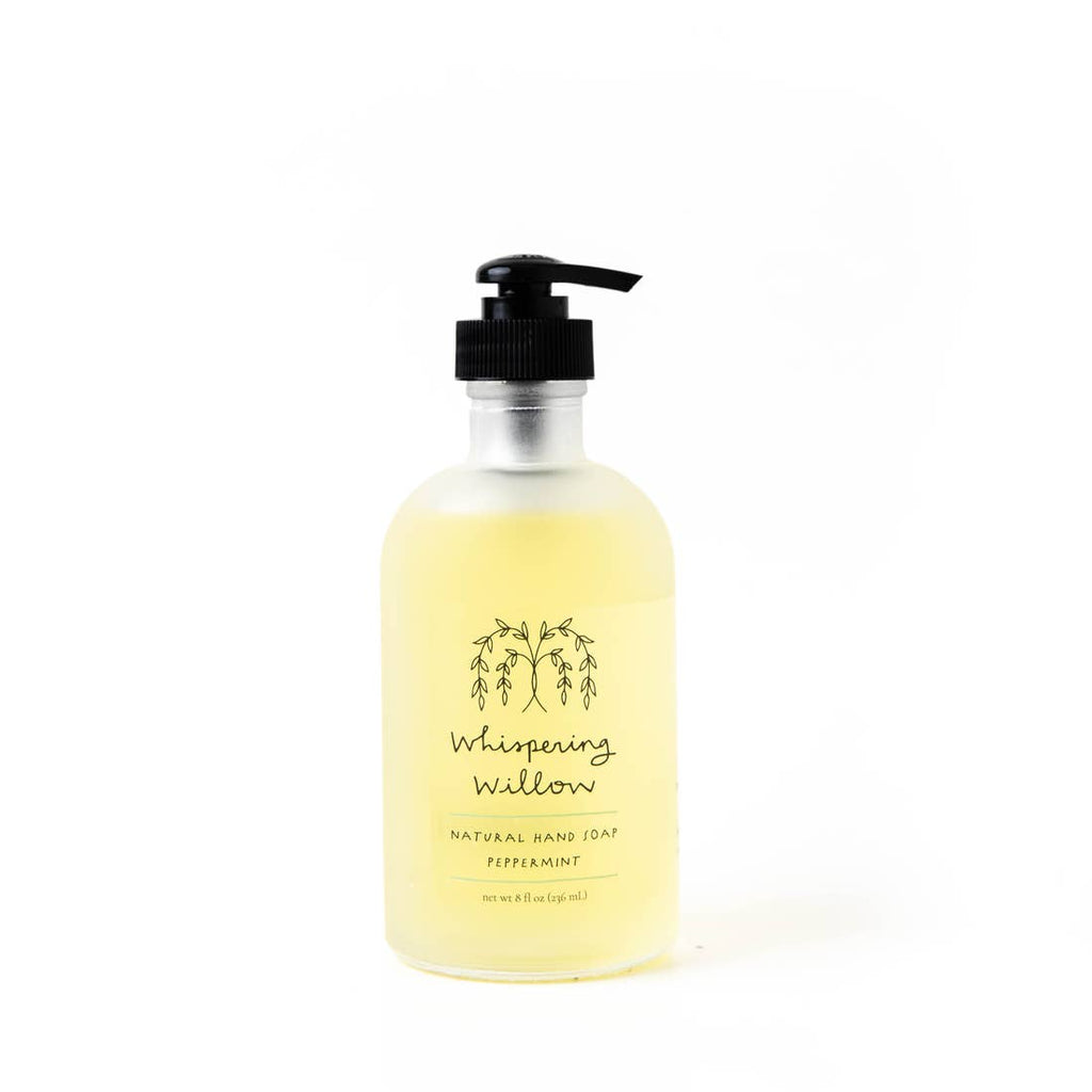 Whispering Willow Peppermint Natural Hand Soap