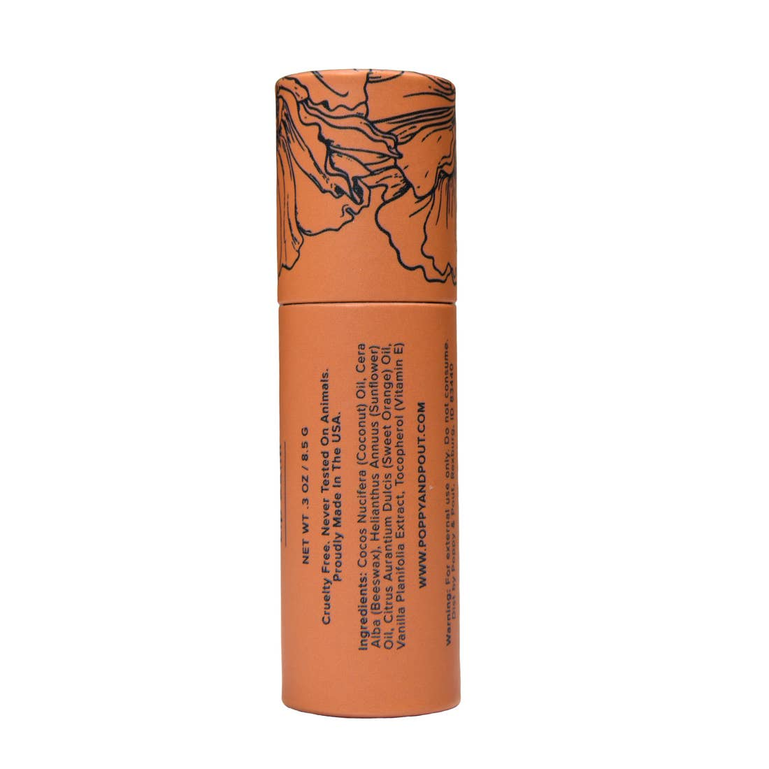 Orange Blossom Natural Lip Balm - Giften Market