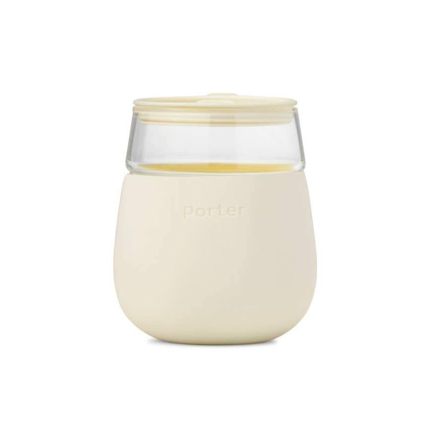 Porter Glass Cup - Cream - Giften Market