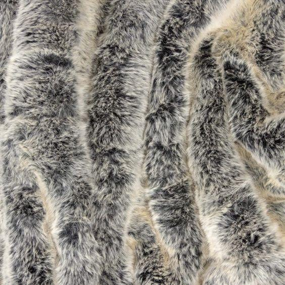 Pretty Rugged Luxe Faux Fur Original Blanket - Silver Fox - Giften Market
