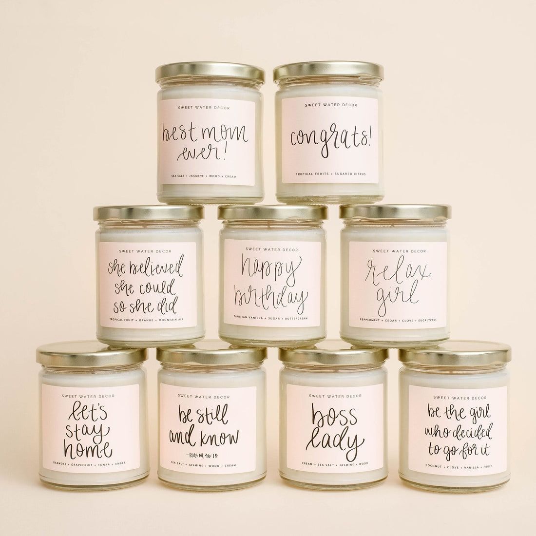Sweet Water Decor Candle Collection