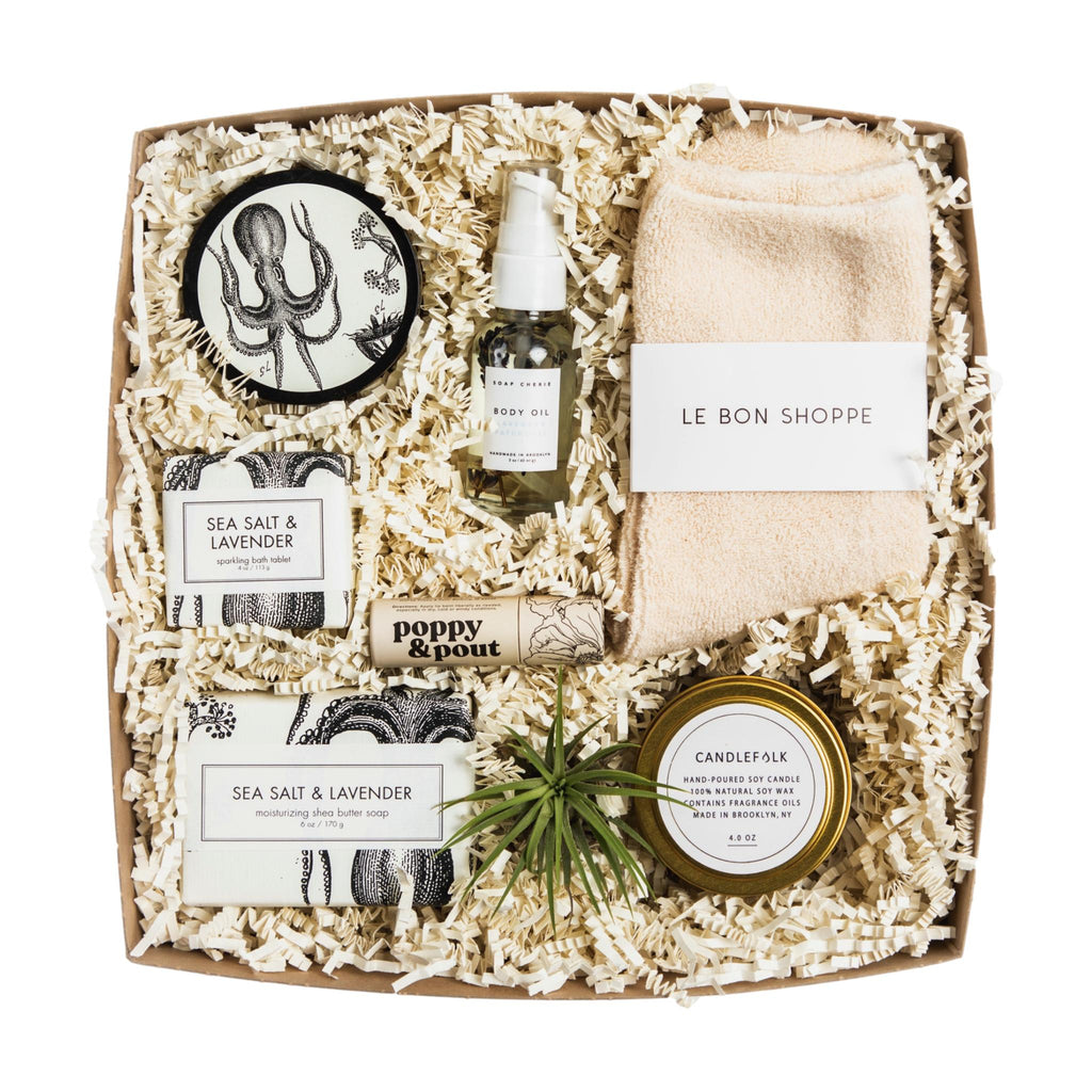 Sea Salt & Lavender Gift Box for Her - Giften Market
