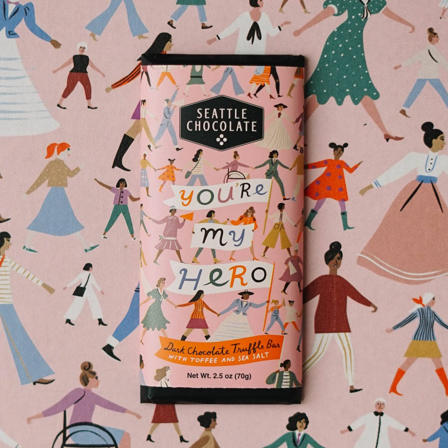 Seattle Chocolate You're My Hero Gift Ideas - Giften Market