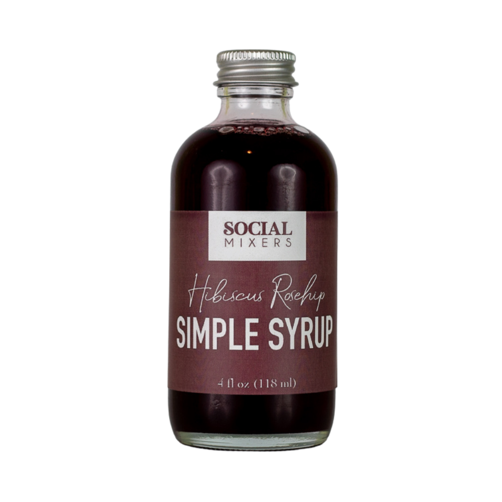 Hibiscus Rosehip Simple Syrup - Giften Market