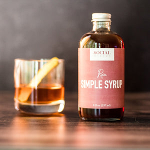 Rose Simple Syrup Cocktail Mix - Giften Market