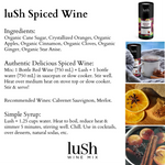 Lush Spiced Wine Cocktail Mix - Gift Ideas - Giften Market