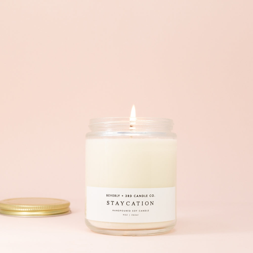 Staycation Soy Candle - Giften Market
