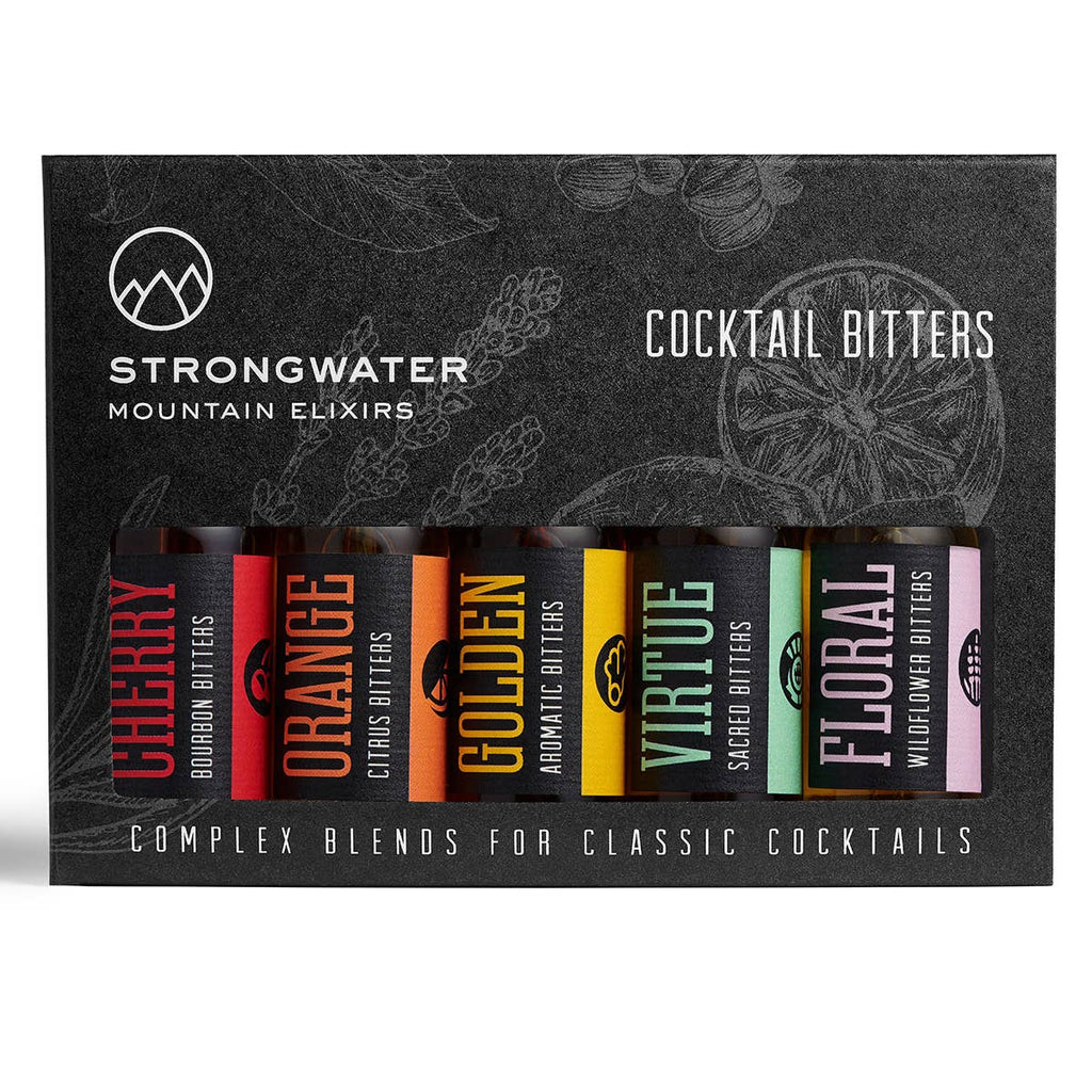 Strongwater Cocktail Bitters Gift Set - Giften Market