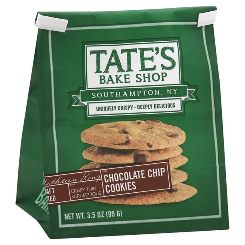Tate's Bake Shop Chocolate Chip Cookie - 3.5oz Bag - Giften Market