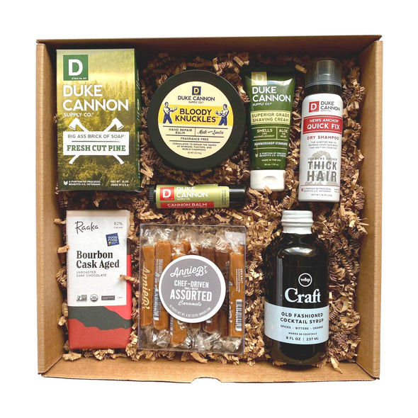The Man Crate men's products from The Giften Market.