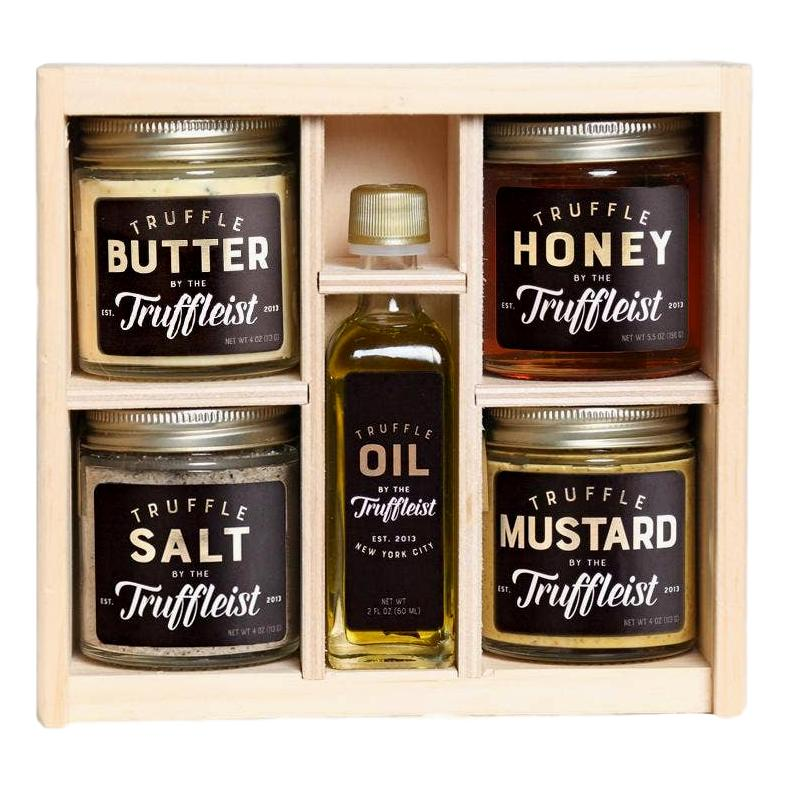 The Truffleist Truffle Butter Salt Honey Gift Box - Giften Market