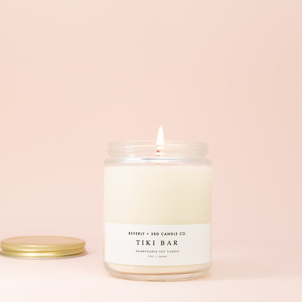 Tiki Bar Soy Candle - Beverly & 3rd