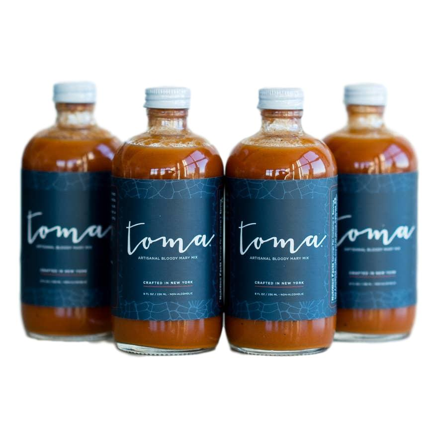 Toma Artisanal Bloody Mary Mix - Original 8oz - Giften Market