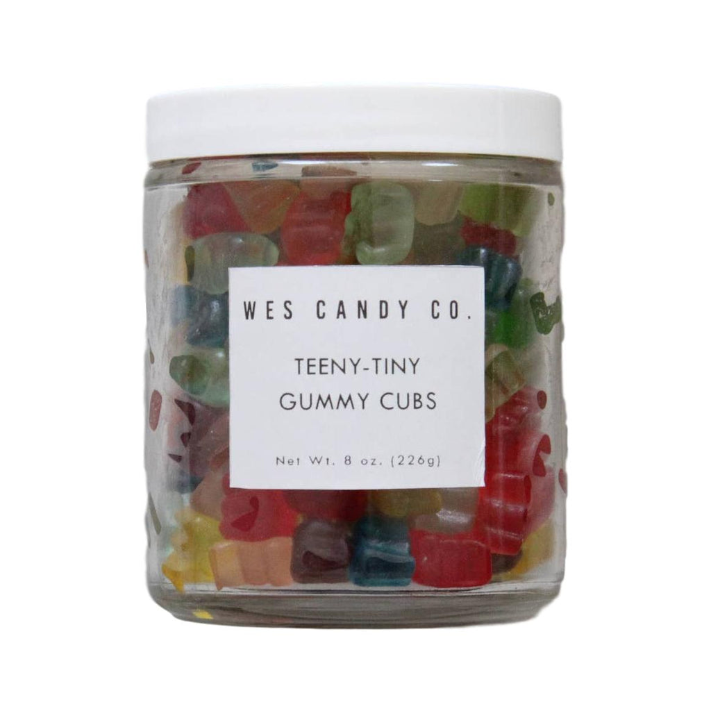 Wes Candy Co. Teeny-Tiny Gummy Cubs