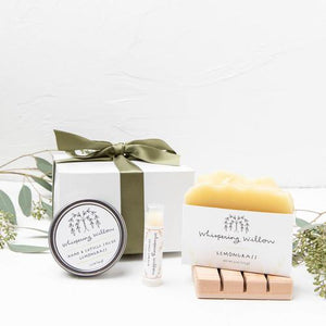 Self-Care Gift Box - Lemongrass - Giften Market