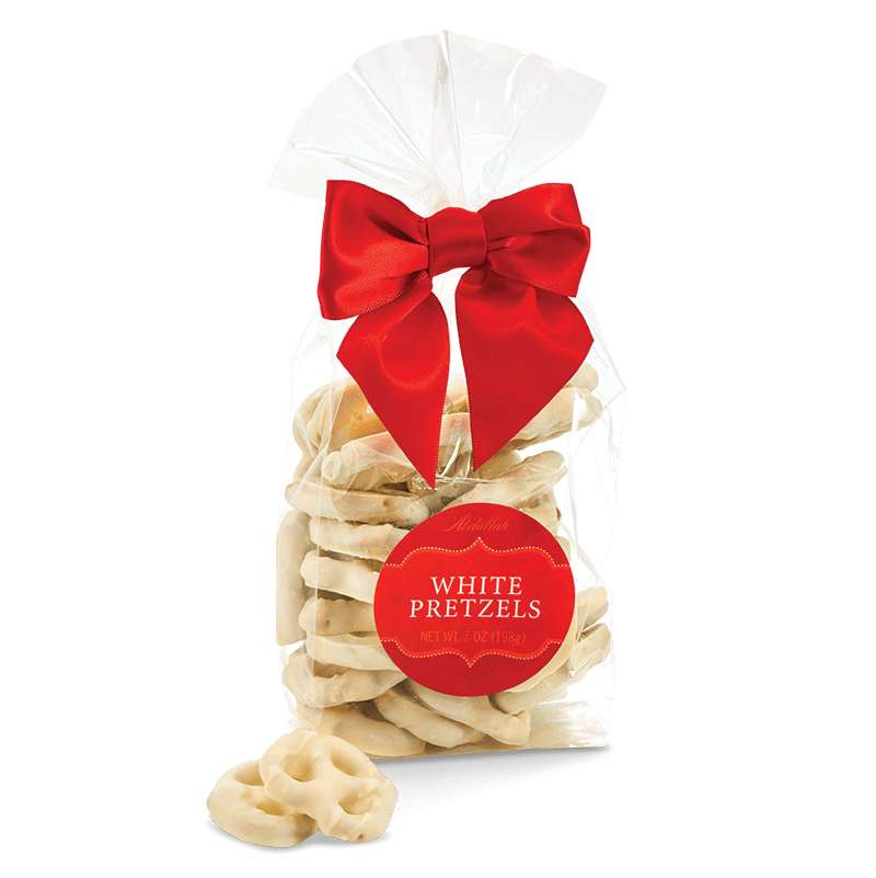 Abdallah White Chocolate Covered Pretzels