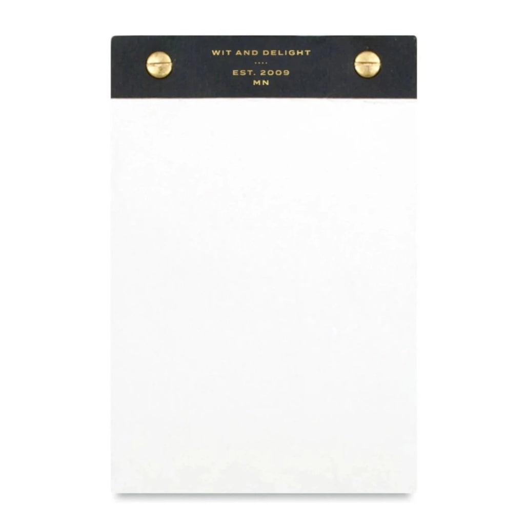 Desktop Notepad - Black - Giften Market
