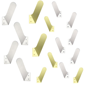 modern brass stainless wall hook