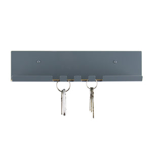 modern key hook grey