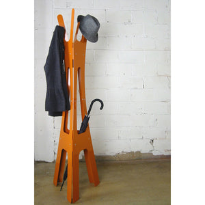 Merkled Coat Rack