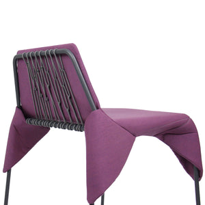 modern net wrap chair