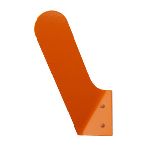 modern orange wall hook
