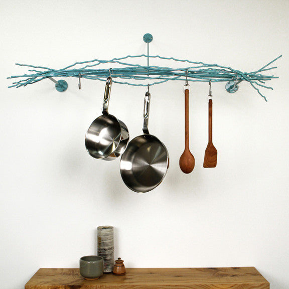 merkled pot rack wallmounted
