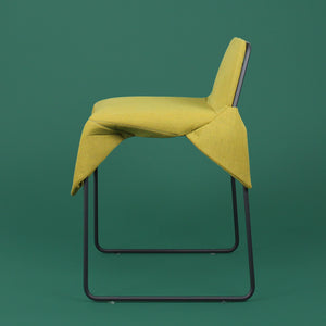 modern seating net wrap chair