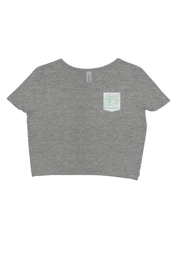 Women'sMint Green Crop Top