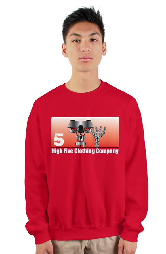 Jawny 5 Red Crew Neck