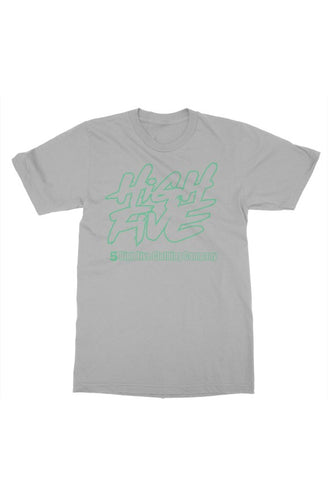 Grey Mint Green Back Logo Big & Tall UP2 5XL