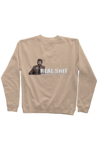 Real Shit- Pigment Dyed Crew Neck