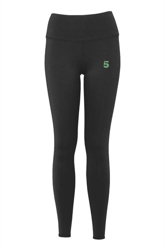 Luxury High Five Woman's Yoga Pants
